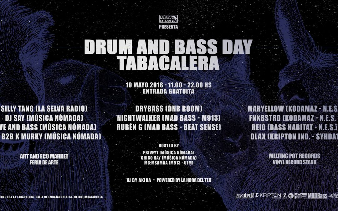 Drum And Bass Day – Tabacalera