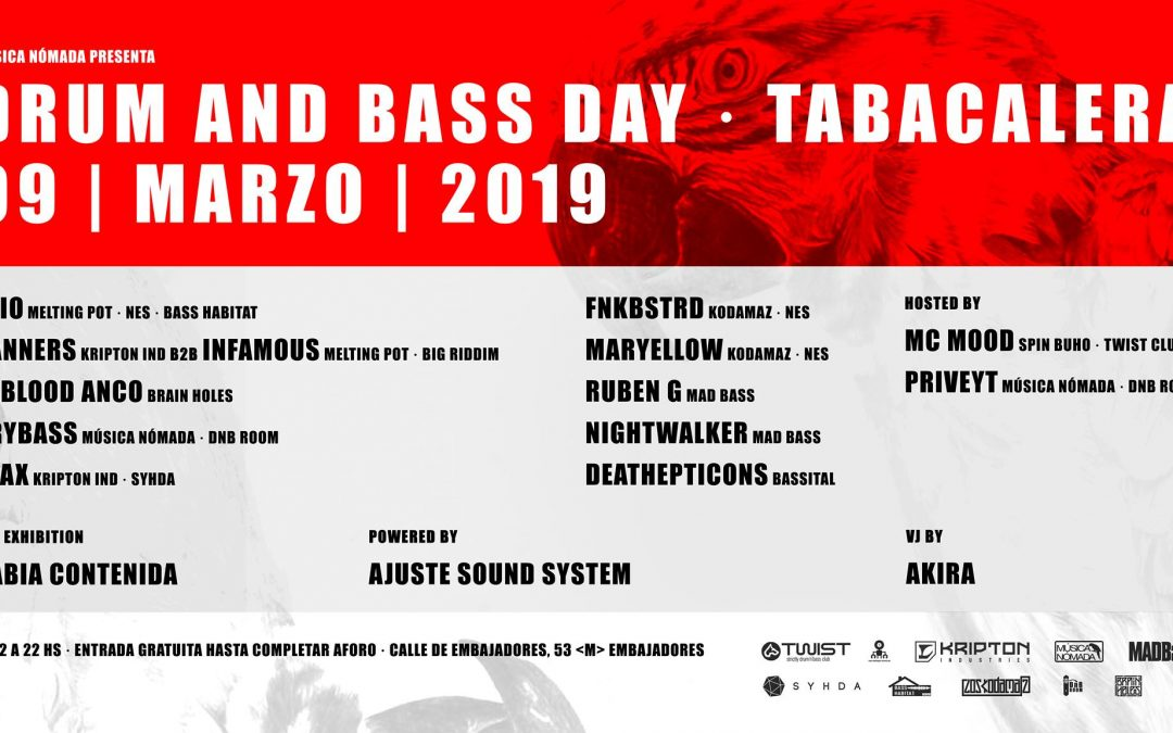 Drum And Bass Day · Tabacalera